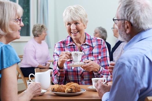 Cămin bătrâni - Socializare